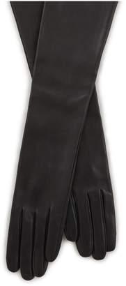 Dries Van Noten Long leather gloves
