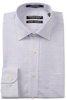 Peter Millar Mini Grid Tailored Fit Dress Shirt