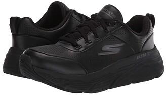 Skechers Max Cushioning Elite - Step Up (Black) Women's Running Shoes