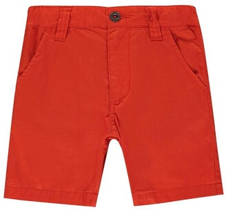 Timberland Kid Boys Orange Bermuda Shorts