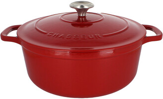 French Home Chasseur 7.1Qt Cast Iron Dutch Oven
