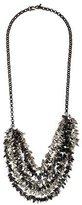 Kenneth Jay Lane Multistrand Leaf Fringe Necklace