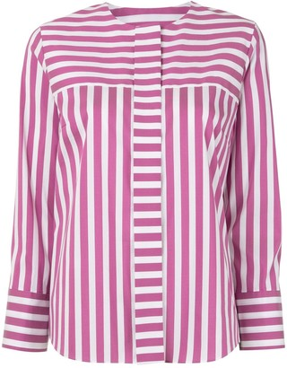 TOMORROWLAND Striped Poplin Shirt