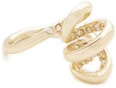 Alexis Bittar Encrusted Spiral Cocktail Ring