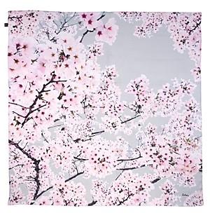 Echo Cherry Blossoms Silk Square Scarf