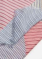 MANGO Stripes lightweight scarf