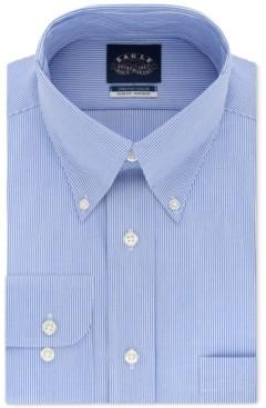 Eagle Men's Slim-Fit Non-Iron Stretch Collar Dress Shirt