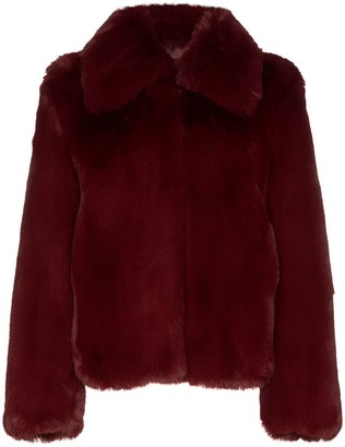 Sies Marjan shearling short coat