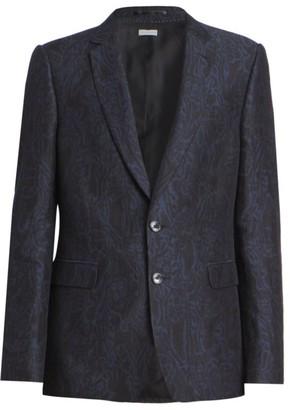 Dries Van Noten Kayne Floral Linen Suit