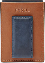 Fossil Max Magnetic Leather Card Case