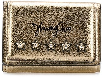 Jimmy Choo Nemo star-studded wallet
