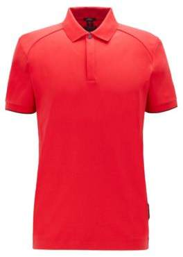 BOSS Slim-fit polo shirt in interlock cotton