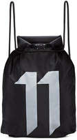 11 By Boris Bidjan Saberi Black Waterproof Gym Backpack