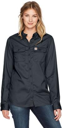 Carhartt Women's Flame-Resistant Rugged Flex Twill Shirt