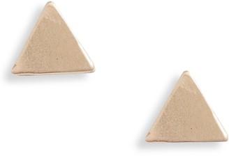 Set & Stones Lucca Triangle Stud Earrings