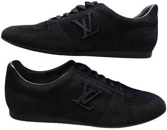 Louis Vuitton Black Suede Trainers