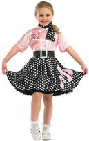 Very 1950's Rock N Roll Girl - Childs Costume