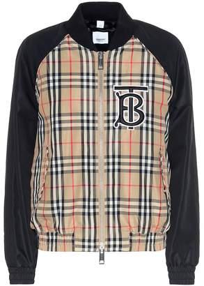 Burberry Vintage Check bomber jacket