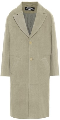 Jacquemus Le Manteau Carro wool-blend coat