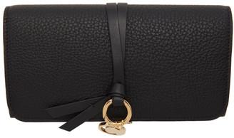 Chloé Black Long Alphabet Wallet