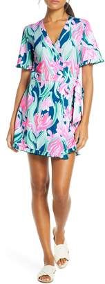 Lilly Pulitzer Liddy Wrap Romper