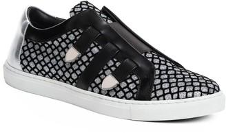 Mia Becar Malibu Sneaker - Silver Glitter