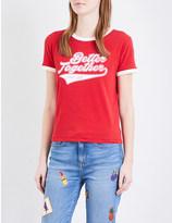 Tommy Hilfiger Gigi Hadid Ringer cotton-jersey T-shirt