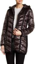 GUESS Iridescent Midweight Down Coat