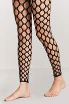 Forever 21 Footless Fish Net Tights