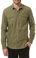 Buffalo David Bitton Sage Sariz Cotton Blend Long Sleeve Shirt