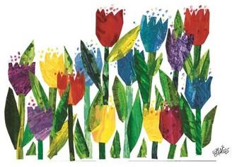 Eric Carle Tulips Art Print on Premium Canvas