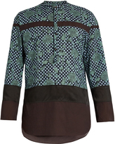 Kolor Relaxed-fit decorative-print shirt