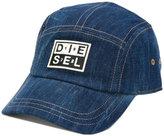 Diesel denim baseball cap