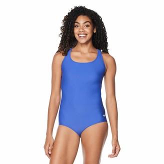 Speedo Women's Swimsuit One Piece PowerFlex Ultraback Solid
