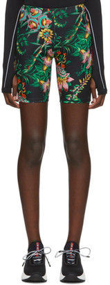 Paco Rabanne Black Viscose Printed Shorts