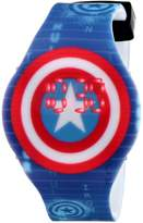 "Marvel The Avengers Kids' CTA3119 ""Captain America"" Digital Display Watch"
