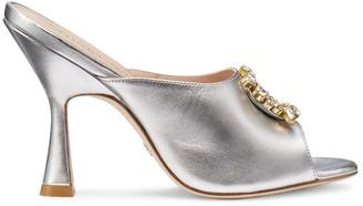 Stuart Weitzman The Merilou Crystal Sandal