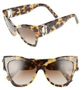 Marc Jacobs Women's 54Mm Oversized Sunglasses - Black