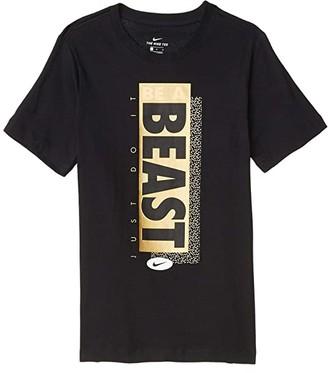 Nike Kids NSW Beast Tee (Little Kids/Big Kids) (Black) Boy's T Shirt