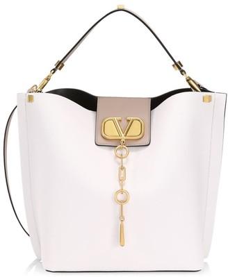 Valentino VLogo Escape Leather Hobo Bag
