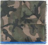 Valentino Garavani Valentino camouflage scarf - men - Modal/Cashmere/Silk - One Size