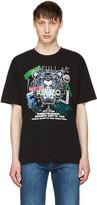 Kenzo Black 'Tiger x Flyer' T-Shirt