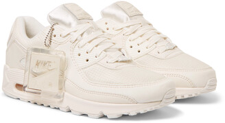 Nike Air Max 90 Cs Leather And Mesh Sneakers