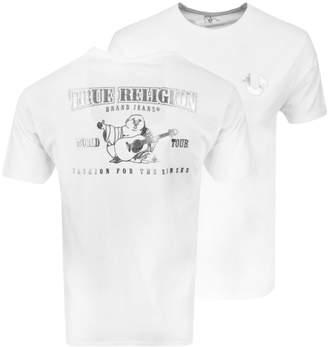 True Religion Buddha Logo T Shirt White