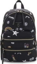 Marc Jacobs Tossed charms nylon backpack