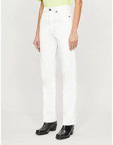 Selfridges Slvrlake London cropped high-rise jeans