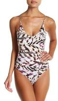 Vitamin A Lilli Reversible Bodysuit One-Piece Swimsuit