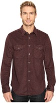 True Grit Sueded Tweed Long Sleeve Two-Pocket Shirt