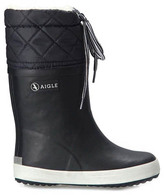Aigle Fur-Lined Showerproof Snow Boots