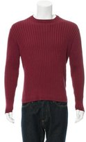 Lanvin Rib Knit Crew Neck Sweater